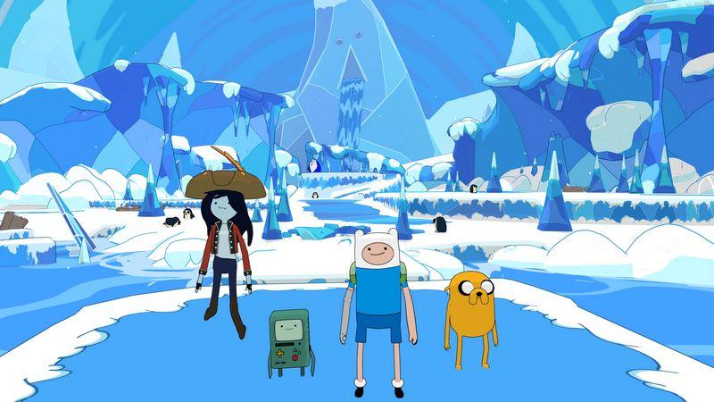 Adventure Time sắp ra mắt game mới vào đầu năm 2018