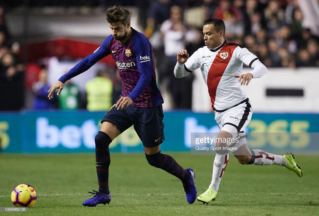 صور مباراة : رايو فاليكانو - برشلونة 2-3 ( 03-11-2018 )  P