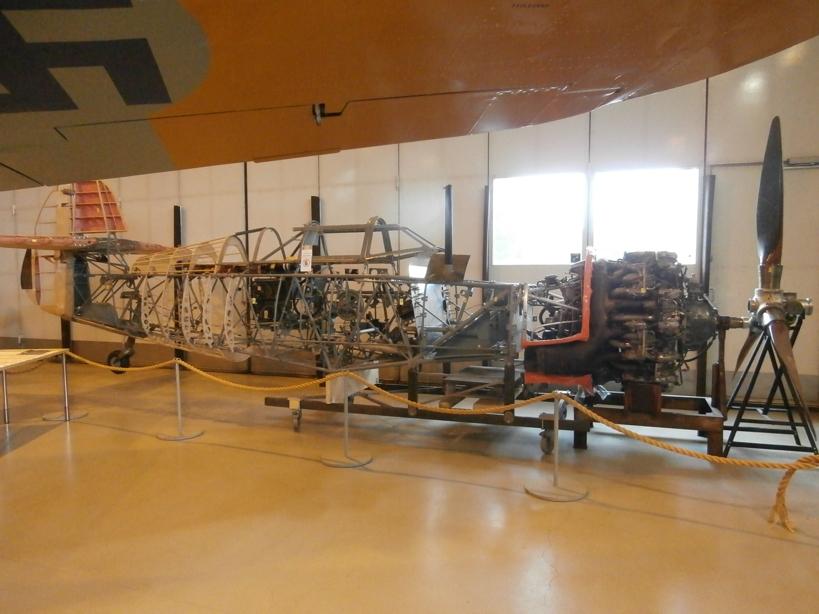 "Zrakoplovni muzej u Tikkakoskiju, ""Suomen Ilmavoimamuseo"" 05"