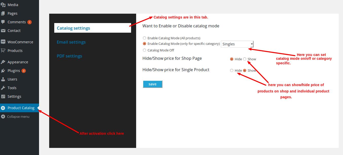 Woocommerce Product Catalog With PDF Catalog Export 13