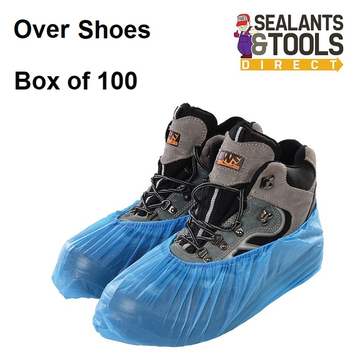 One Size Disposable Shoe Covers Box of 100 409778