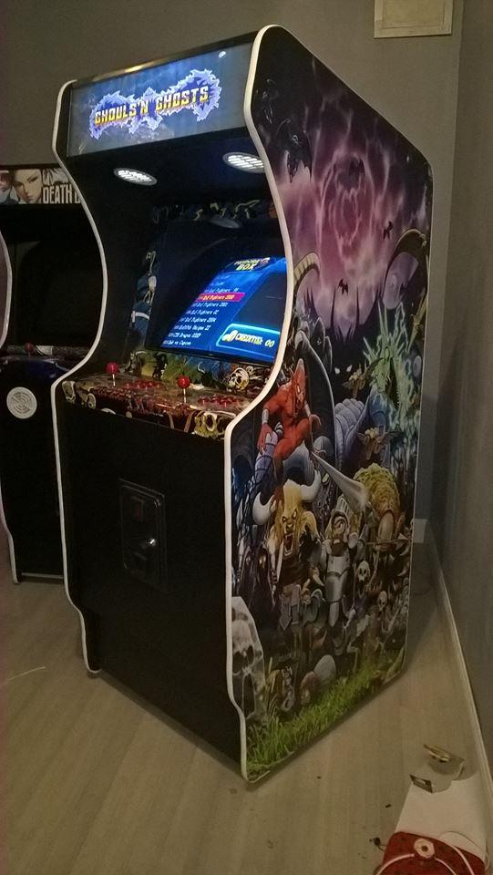 Borne d'arcade en kit - Page 2 Borne_yannic
