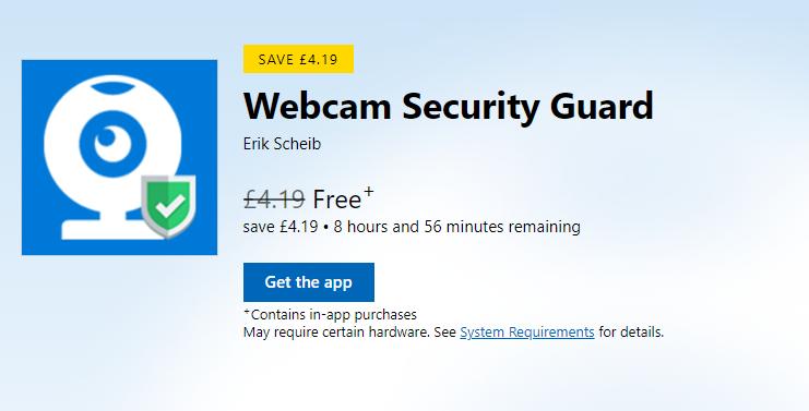 Webcam Security Guard Gratis