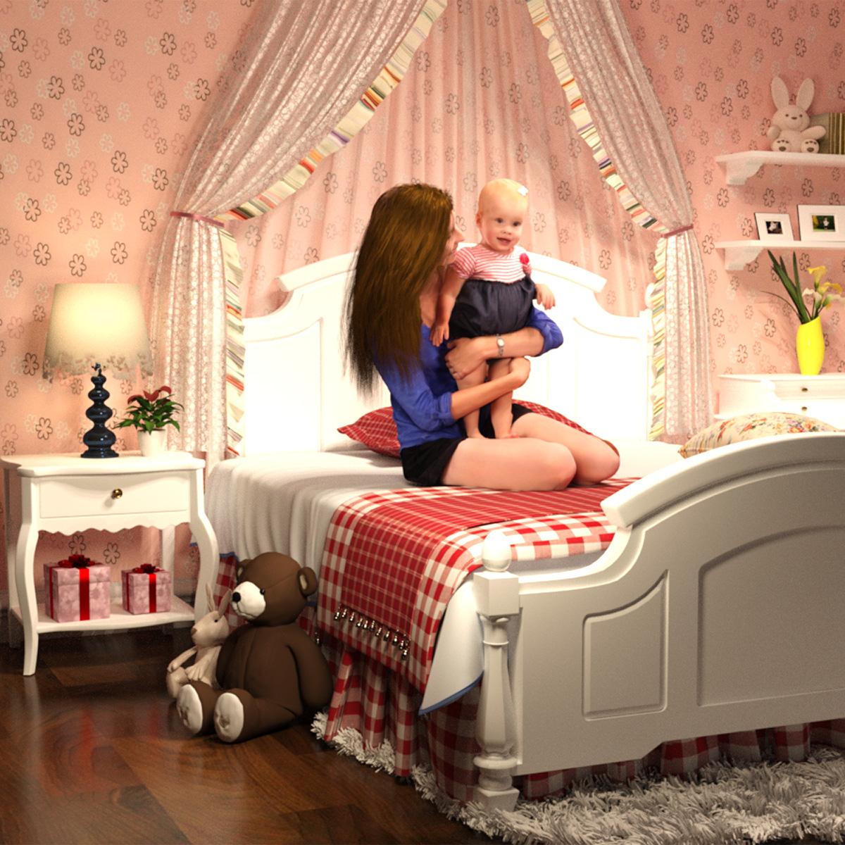 Little Princess's Bedroom