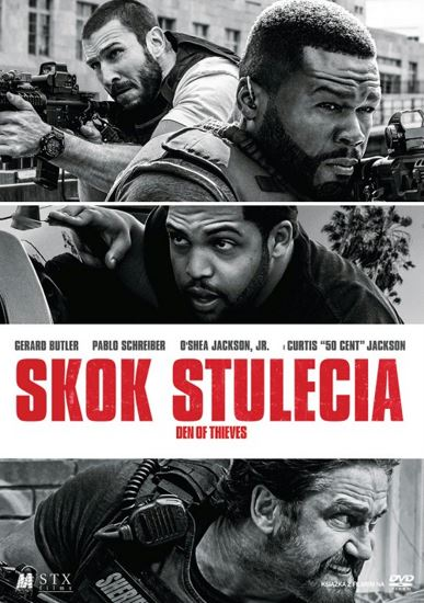 Skok stulecia / Den of Thieves (2018) PL.BRRip.XviD-GR4PE | Lektor PL