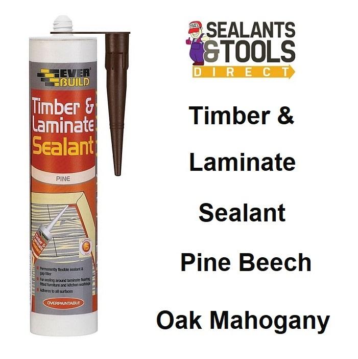 Everbuild Timber Laminate Sealant Beech Mahogany Oak Pine