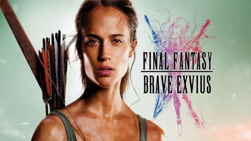 final fantasy brave exvius, game android, game di động, game ios, game mobile, laracroft and the temple of osiris