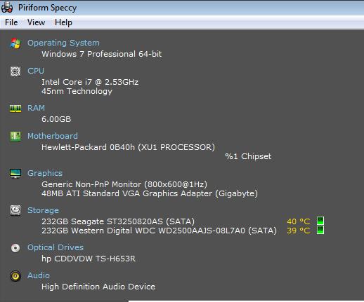 Driver Standard Vga Graphics Adapter Win 7 64bit Hp Standard vga