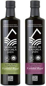 Aceite de Oliva Virgen Extra Royal de Cazorla, aceite de oliva Gourmet