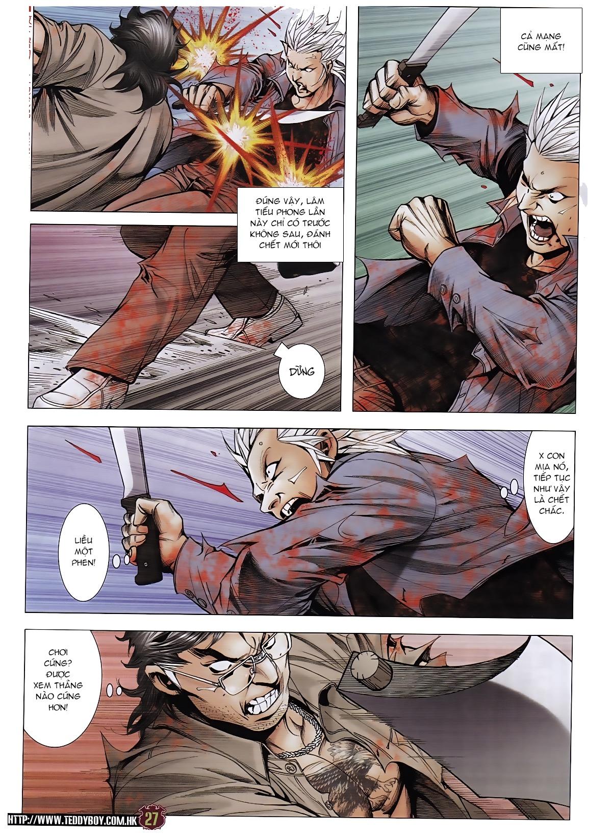 Người Trong Giang Hồ chapter 1963: đấu tử tử đấu trang 26