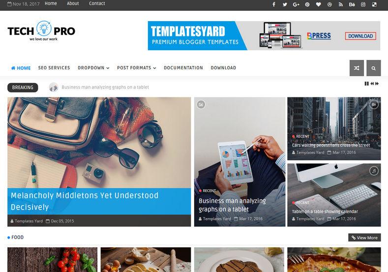 TechPro Technology Blogger Template