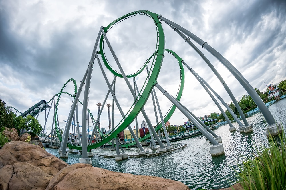 Incredible Hulk Coaster Orlando