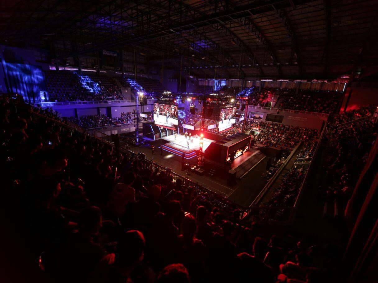 Stage Point Blank International Championship 2017 by Garena Indonesia