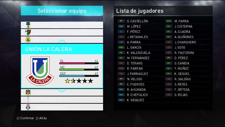 Liga Chilena: Logos Curicó Unido y Unión La Calera - SomosPES com