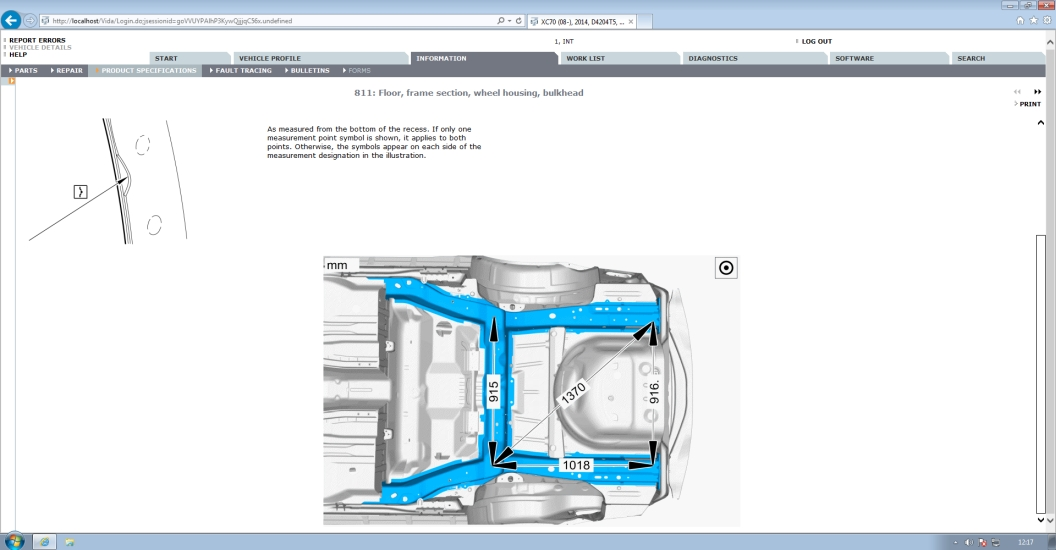 Volvo Vida 2014D /& EWD 2014D Repair Service Parts Wiring Workshop 2 x DVDS