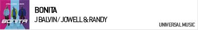 J BALVIN / JOWELL & RANDY BONITA