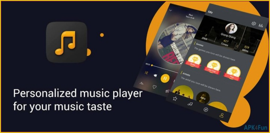 Music Player,Playing Music