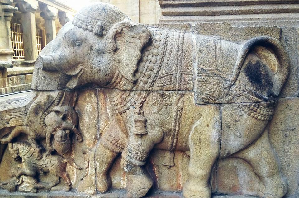Nandi Statue Thanjavur Brihadeeswarar Temple
