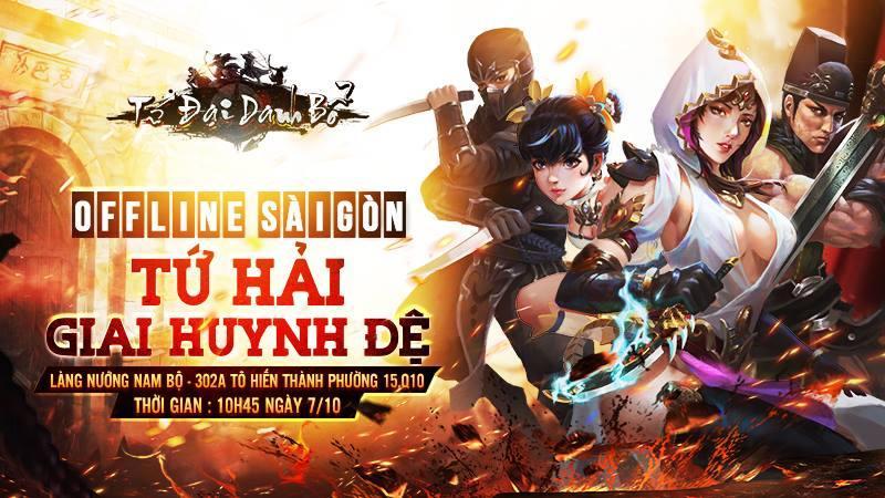 """Game thủ Tứ Đại Danh Bổ """"quẩy"""" hết mình trong buổi offline tại Sài Gòn"""