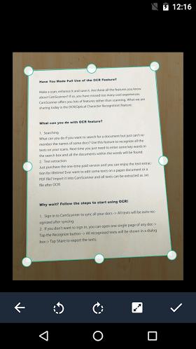 CamScanner Phone PDF Creator 5.1.0.20170912 Full APK