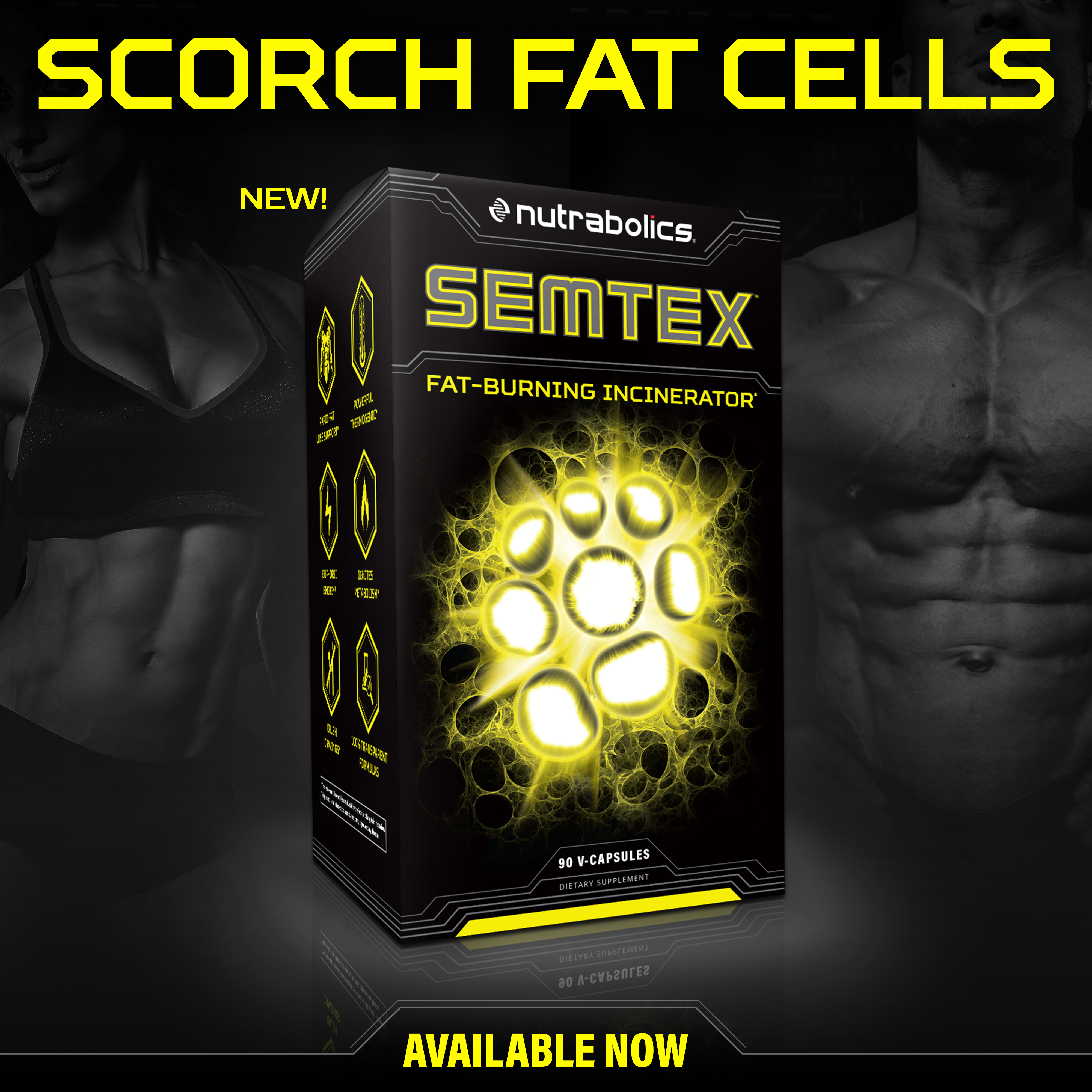 Nutrabolics Semtex Fat Burning Incinerator Now Available Ultimate Nutrition Ultra Ripped Faf 90 Caps Capsul View Image