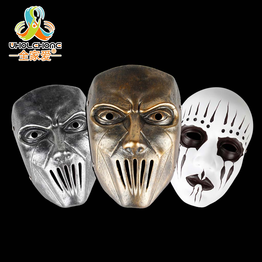 slipknot full face mask halloween clown joey costume masquerade