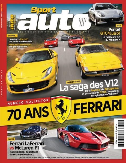 Sport Auto N°668 - Septembre 2017