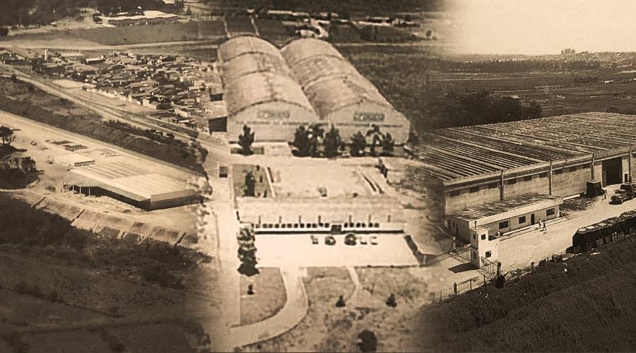 Foto antiga das unidades