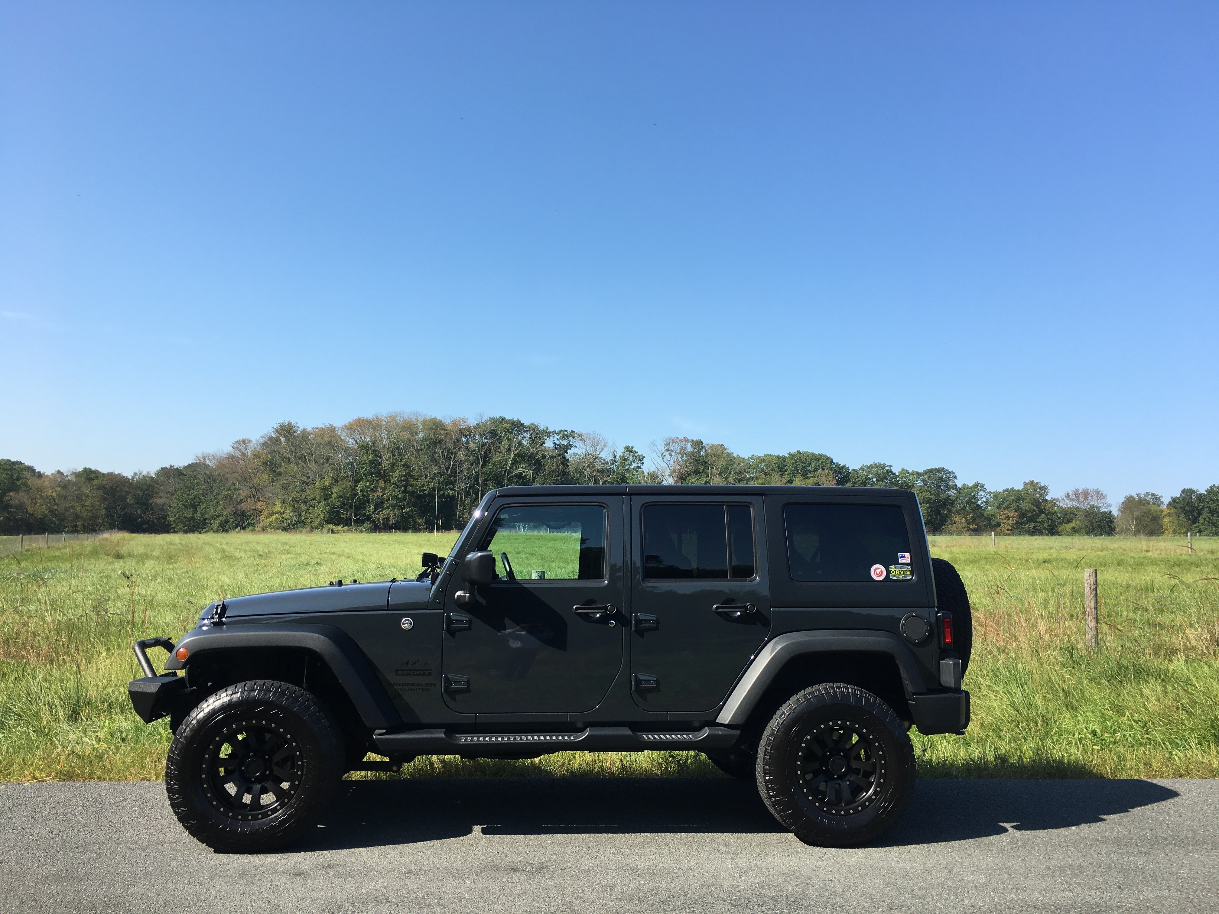 """2016 unlimited sport s w/2"""" lift tires options?? - Jeep ..."""