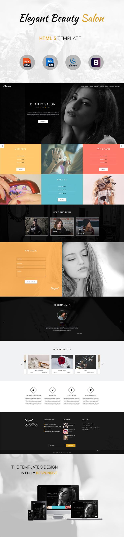 Elegant html 5 template