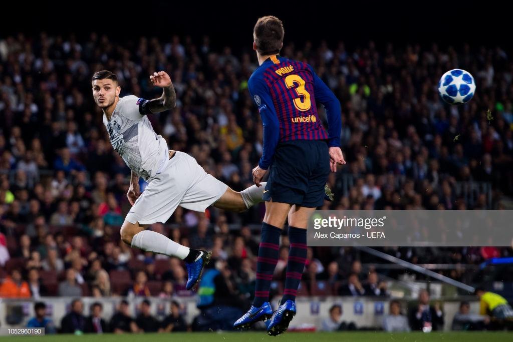 صور مباراة : برشلونة - إنتر ميلان 2-0 ( 24-10-2018 )  L3