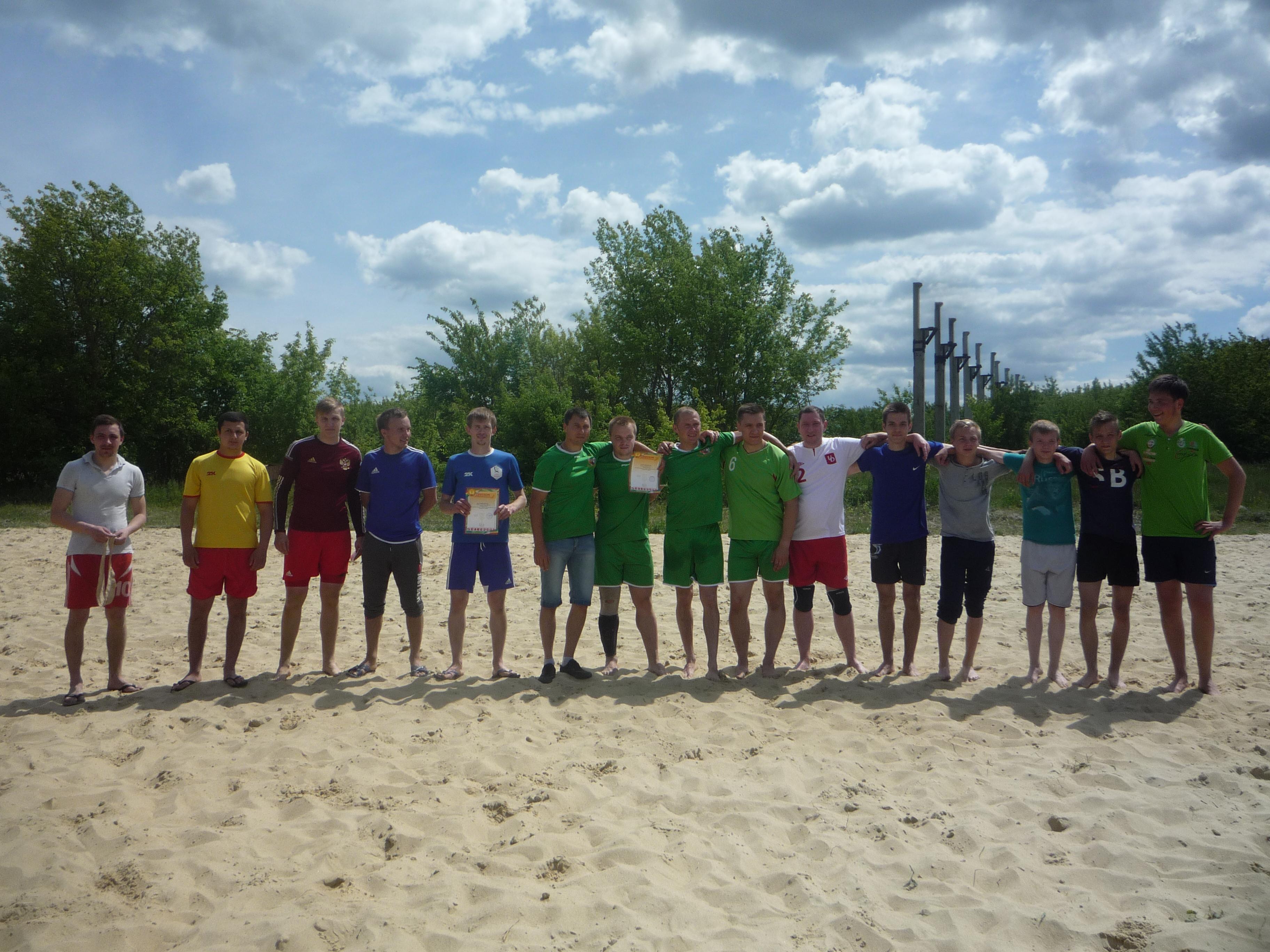 Изображение из альбома Пляжный футбол и пляжный волейбол в рамках празднования Дня России 12.06.2018