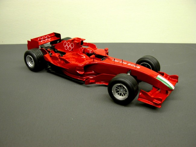 FERRARI 1/18 TORINO MARLBORO CAR MODEL SCHUMACHER