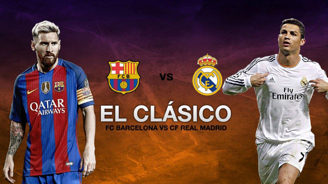 Барселона – Реал Мадрид | Испанская Ла Лига 2017/18