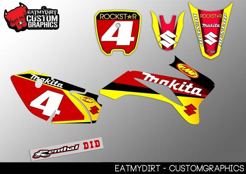 Decals & Stickers FOR KTM 65 2009-2015 GRAPHICS CUSTOM