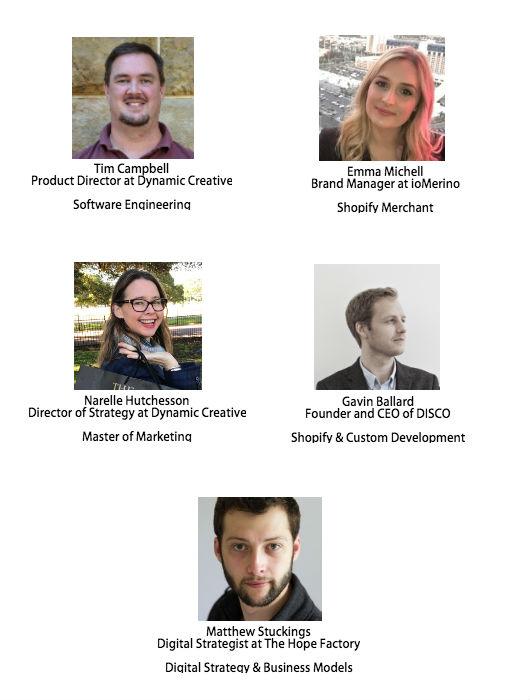 Meetup Speakers