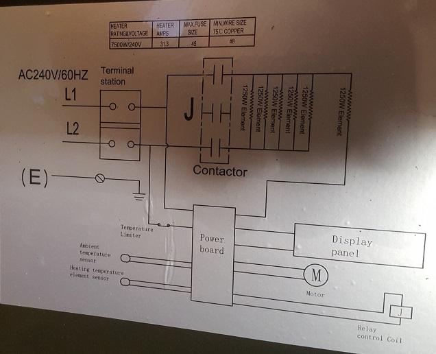 comfort zone cz230er thermostat wiring  the garage journal