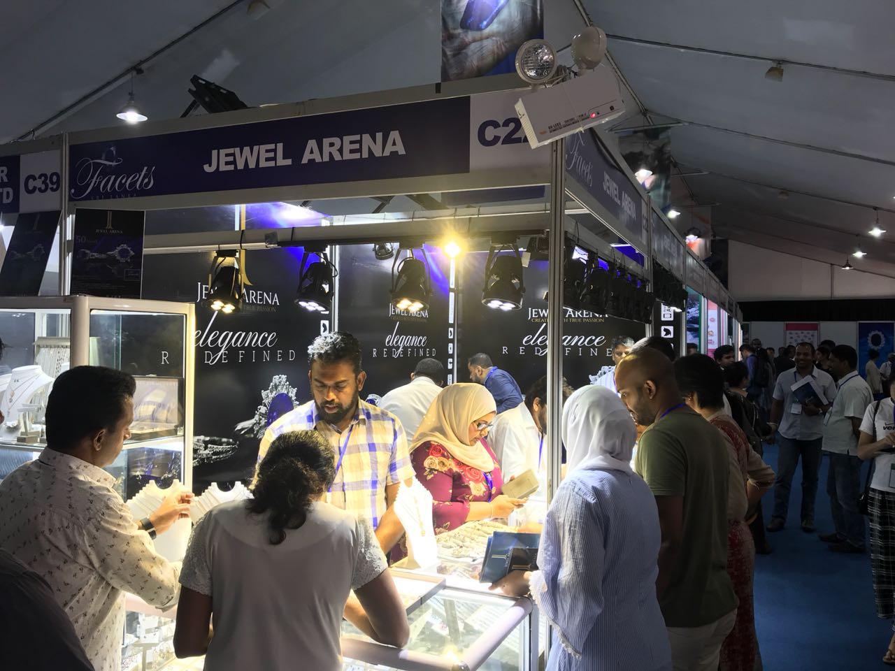 Jewel Arena Art Directed