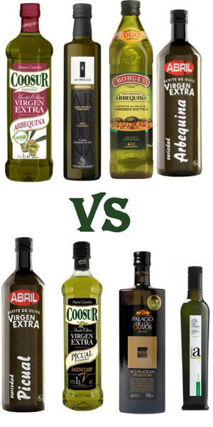 Arbequina vs Picual, most appropriate selection