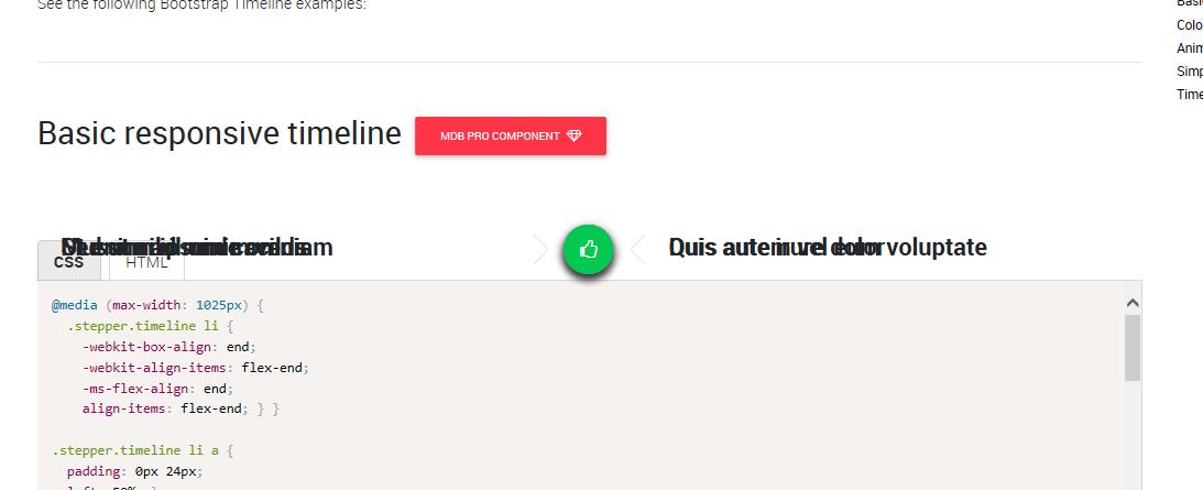 Basic responsive timeline does not work in Internet Explorer