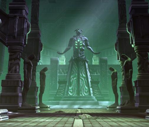 Templo oscuro