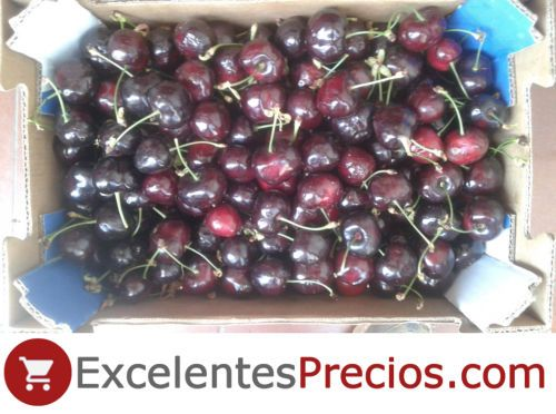 Early Lory cherry, Boxes of 2kg, sale of cherries.