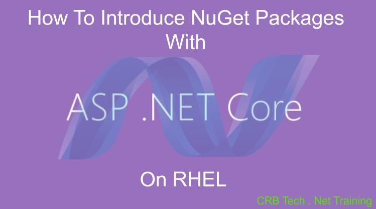 Introduce NuGet Packages With Dot NET Core On RHEL