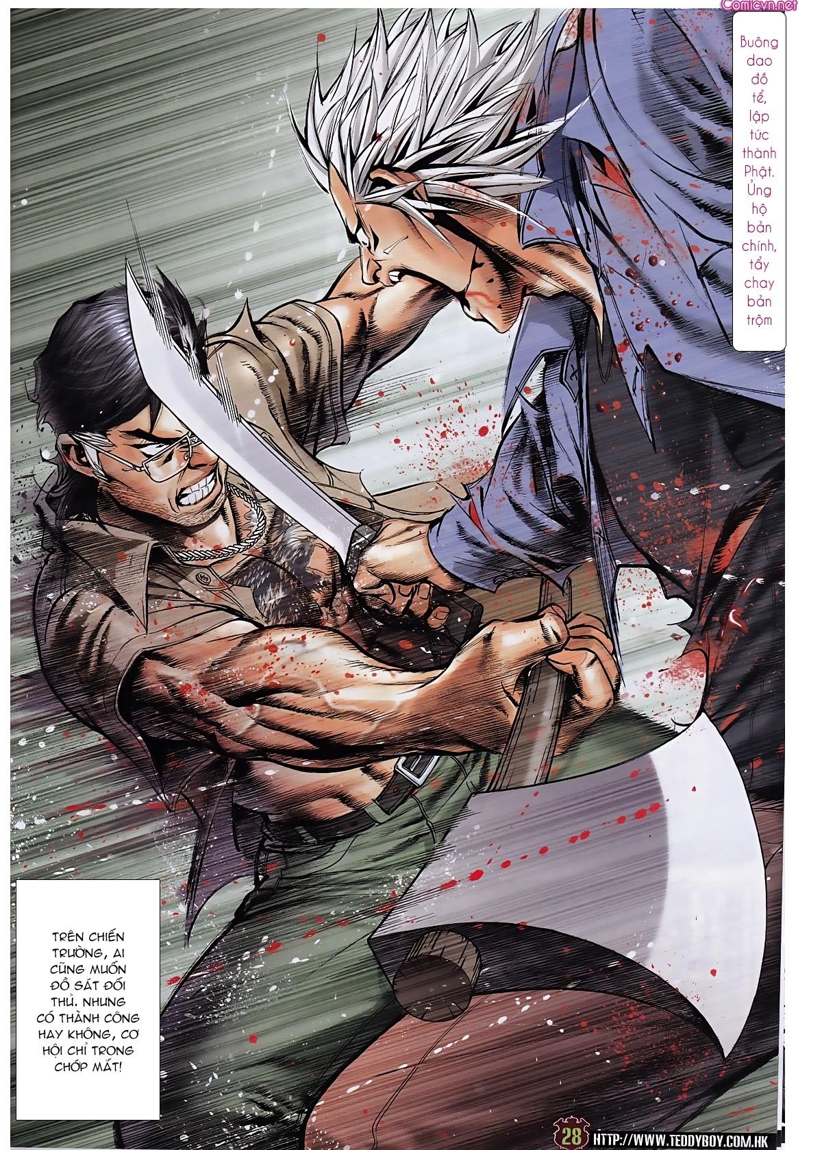 Người Trong Giang Hồ chapter 1963: đấu tử tử đấu trang 27