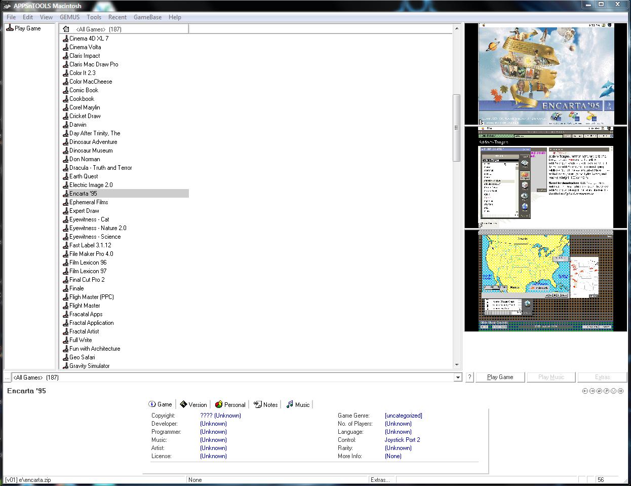 Seiya's GameBase Collections - English Amiga Board