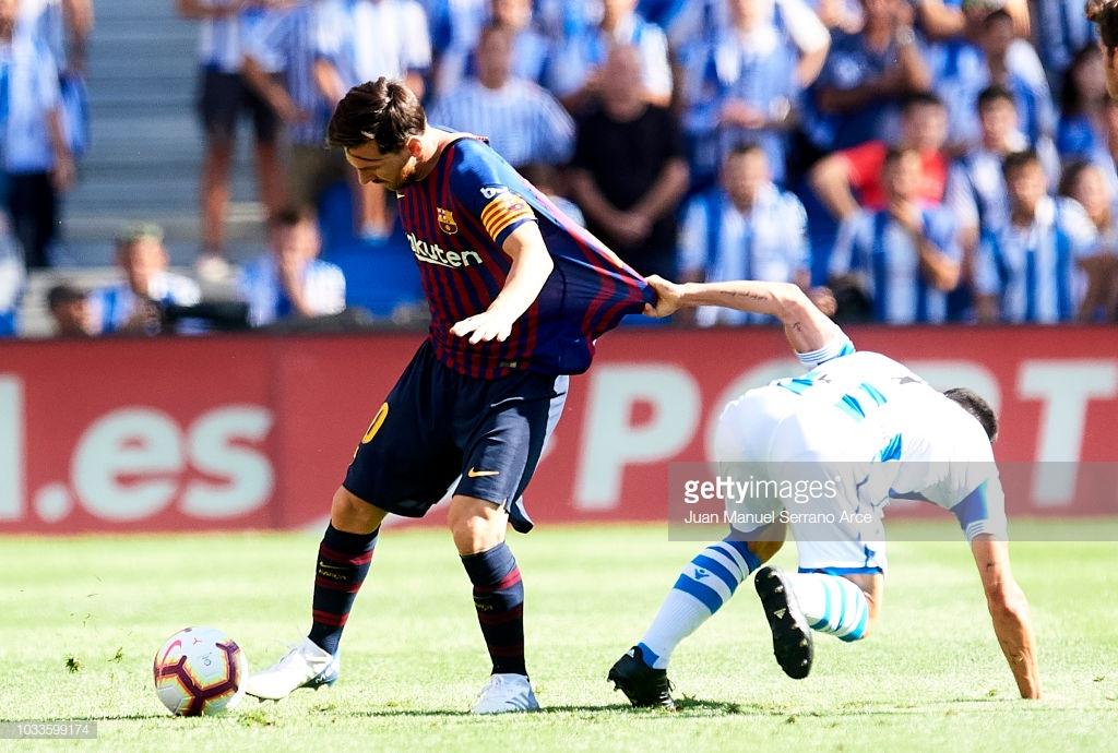 صور مباراة : ريال سوسيداد - برشلونة 1-2 ( 15-09-2018 ) K5