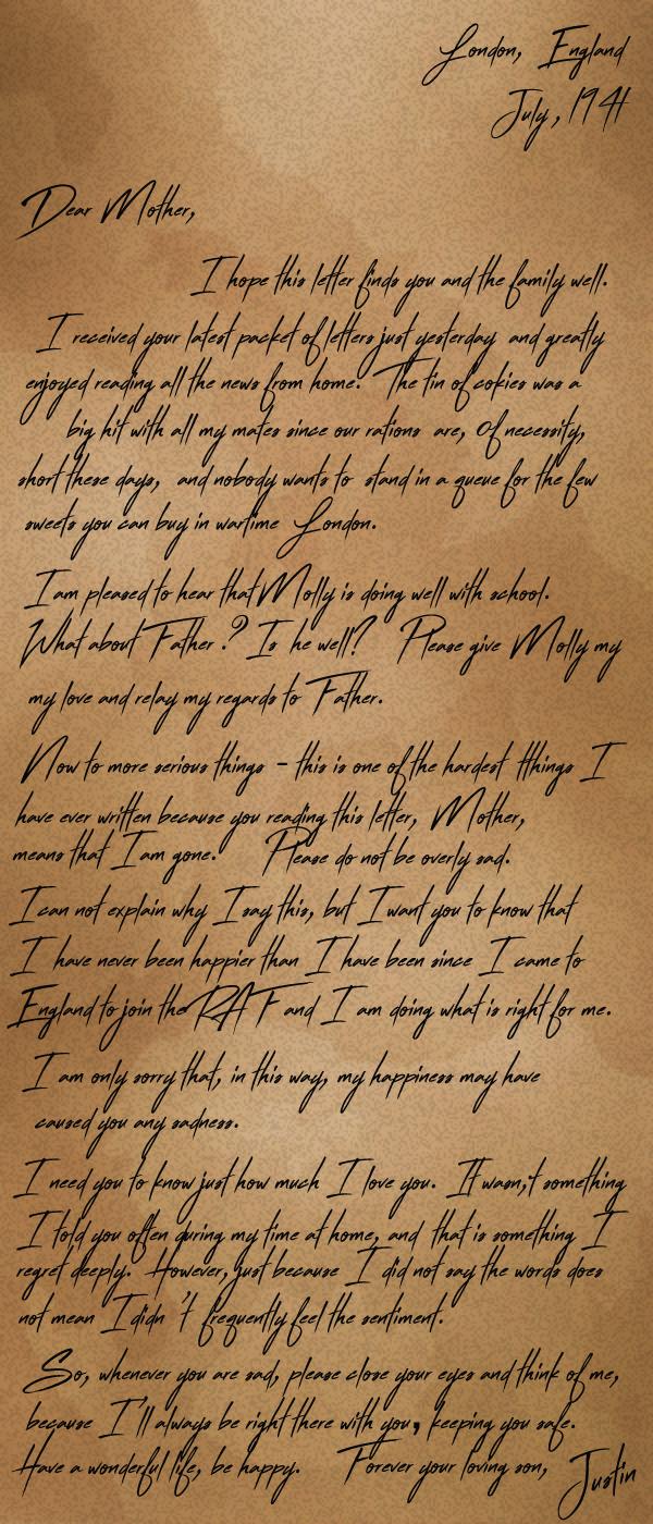 Justin_Letter_Fic