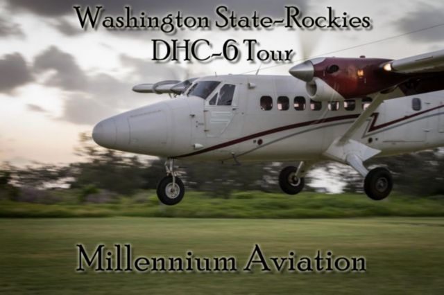 DHC-6 Washington State - Rockies Tour