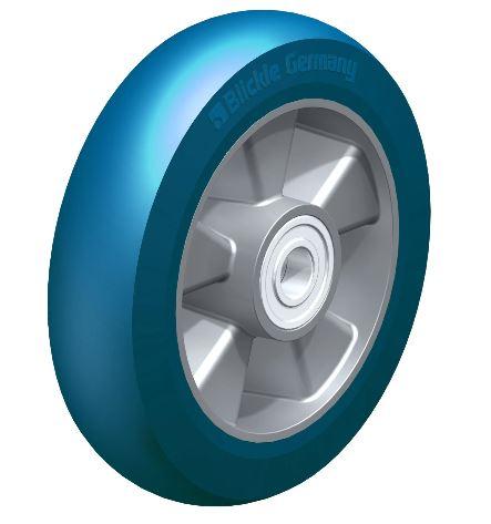 BYALBS 200/20K-CO ALBS 200/20K-CO Blickle  Heavy duty wheel with Blickle Besthane® Soft polyurethane tread with aluminum wheel center thumbnail image