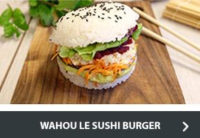 Recette du sushi burger
